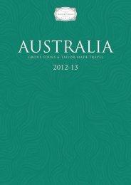 Cox & Kings – Australia brochure - Etiam Luxury Holidays