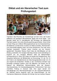 17.06.2013: Schriftliche Prüfungen zum Mittleren ... - Magix