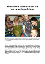 "23.04.2013: Umweltausstellung ""Wasser - alles braucht Dich"" - Magix"