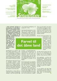 Strandsiden maj 2003 side 1-3 - Solrød Strands Grundejerforening