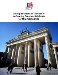 Doing Business In Germany - Mobile Chamber of Commerce