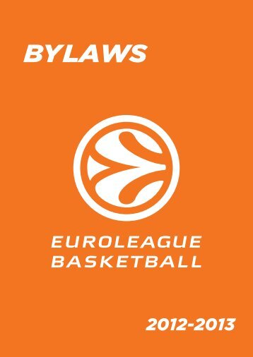Bylaws - Euroleague