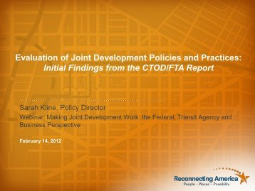Download Presentation - Center for Transit-Oriented Development