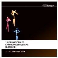 7. internationales kammermusikfestival nürnberg - akademie der steg