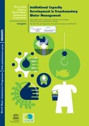 Institutional capacity development in ... - unesdoc - Unesco