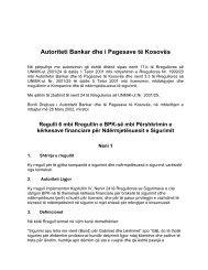 Autoriteti Bankar dhe i Pagesave të Kosovës - Banka Qendrore e ...