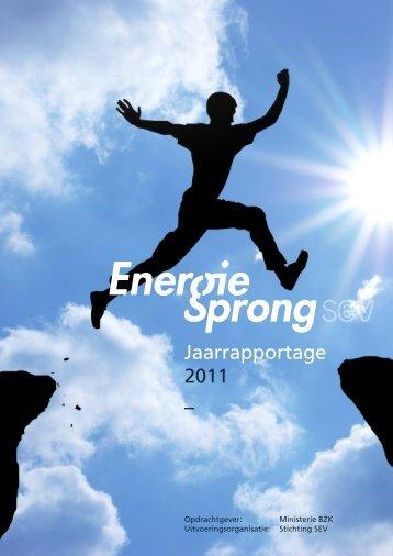 Jaarrapportage 2011 – - Energiesprong