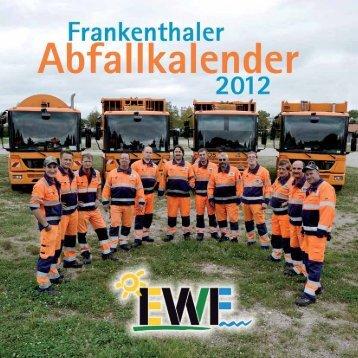 abfallbezirke - Stadt Frankenthal