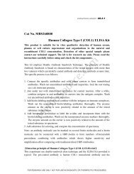 (COL1) ELISA Kit - MyBioSource