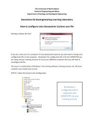 Instruction to configure Leica Geosystems Cyclone user file