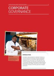 CORPORAtE GOVERNANCE - Eastern Cape Development ...
