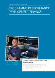 Development Finance - Eastern Cape Development Corporation