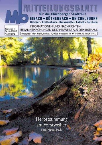 NOVEMBER 2012 | NÃœRNBERG-EIBACH ... - SEIFERT Medien