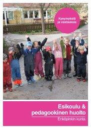 Esikoulu & pedagookinen huolto - Enköping