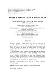 Hedging of Currency Option in Trading Market - Research India ...
