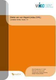 Richtlijn ziekte van von Hippel-Lindau.pdf - NVGIC