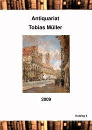Katalog Nr. 6 1 - Antiquariat Tobias Müller: Start
