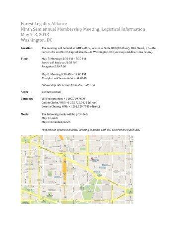 FLA meeting logistics May 2013.pdf - Forest Legality Alliance