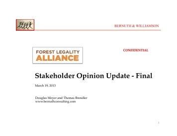 WRI-FLA Winter 2012-13 Findings - Final - Forest Legality Alliance