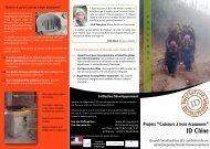"""""""Cuiseurs à bois économes"""" d'ID Chine - Initiative Développement"""