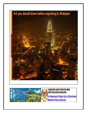 All you should know before exporting to Malaysia - Ministry of ...