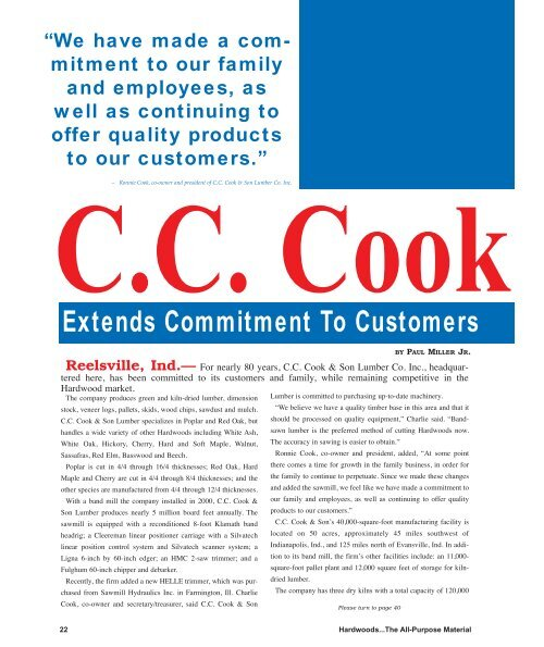 CC Cook - Miller Publishing Corporation