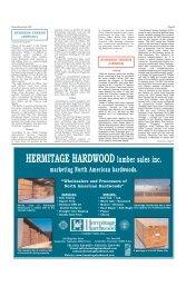 HERMITAGE HARDWOOD lumber sales inc. - Miller Publishing ...