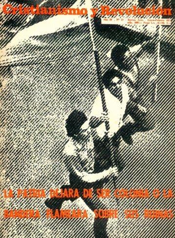 Cristianismo y Revolución Nº 27 (Ene.-Feb. 1971) - CeDInCI