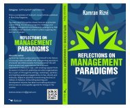 Reflections on Management Paradigms