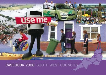 casebook 2008: south west councils - South West Regional Assembly