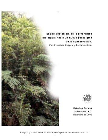 hacia un nuevo paradigma de la conservación. - Era-mx.org