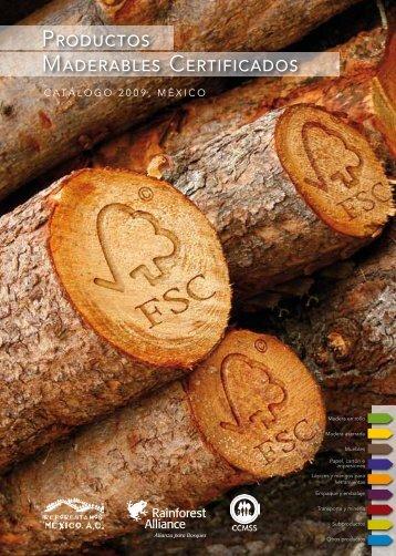 productos maderables certificados - Consejo civil mexicano para la ...