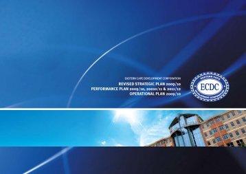 ECDC Strategy document FINAL.pdf - Eastern Cape Development ...