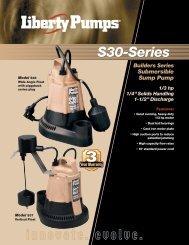 S30-Series - Liberty Pumps