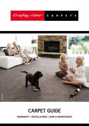 carpet Guide - Godfrey Hirst Carpets