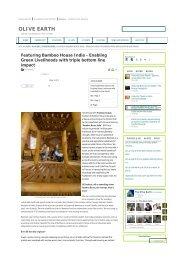 OLIVE EARTH - Bamboo House India