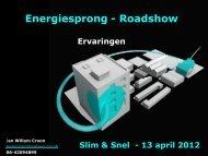 Jan Willem Croon - Energiesprong
