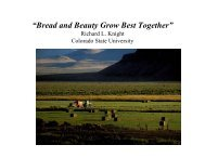 """""""Bread and Beauty Grow Best Together"""" - Farm Foundation"""