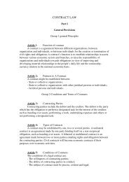 Contract Law_1990 - International Law Project