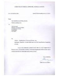 Kerala - Notification & ERO List - Embassy of India, Kyiv