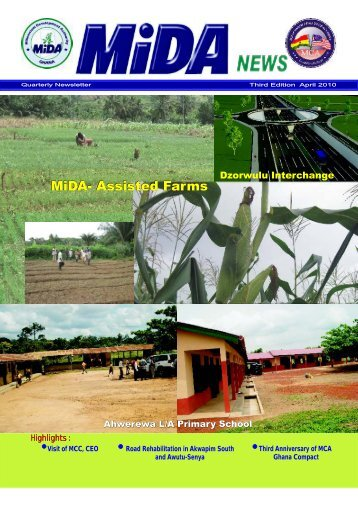 MiDA Newsletter 3rd Edition, April 2010 - MiDA Ghana