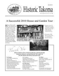Fall 2010 - Historic Takoma Inc.