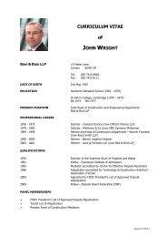 CJW Adjudication_Arbitration_DB CV[1].pdf - The Dispute Board ...