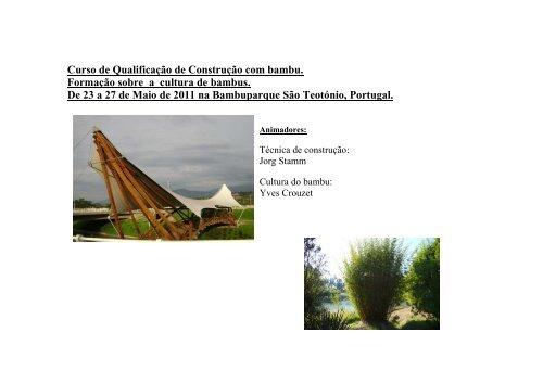 programa do estagio - World Bamboo