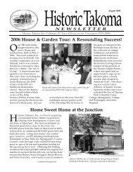 Aug. 2006 - Historic Takoma Inc.