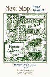 2012 House and Garden Tour Booklet (PDF) - Historic Takoma Inc.