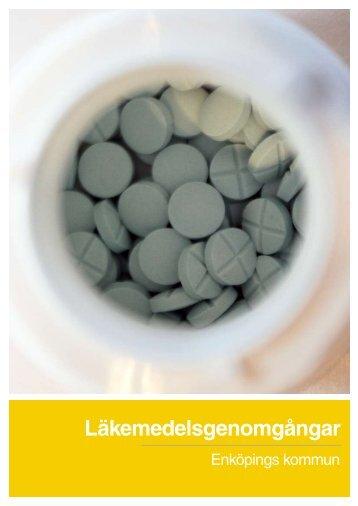 Läkemedelsgenomgångar - rapport - Enköping