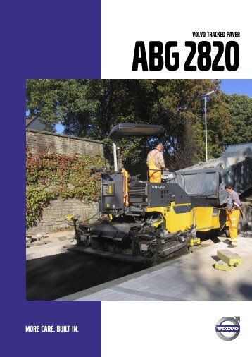 VOLVO TRACKED PAVER
