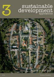 Nature in the city. Ecosystem services — untapped potential of cities