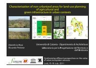 Characterization of non-urbanized areas for land-use planning of ...